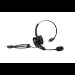 Zebra HS2100 Monaural Head-band Black headset HS2100-OTH