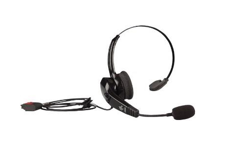 Zebra HS2100 headset Head-band Monaural Black