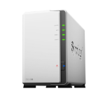 Synology DS218J/16TB-REDPRO 2 Bay NAS