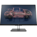 "HP Z27n G2 27"" 2560 x 1440 pixels Quad HD LED Silver"