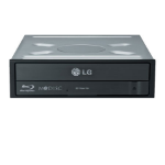 LG WH16NS40 Internal Blu-Ray RW Black optical disc drive