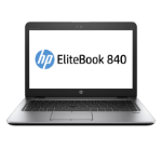 "HP EliteBook 840 G3 Notebook Black,Silver 35.6 cm (14"") 1920 x 1080 pixels 6th gen Intel® Core™ i5 4 GB DDR4-SDRAM 256 GB SSD Wi-Fi 5 (802.11ac) Windows 10 Pro"