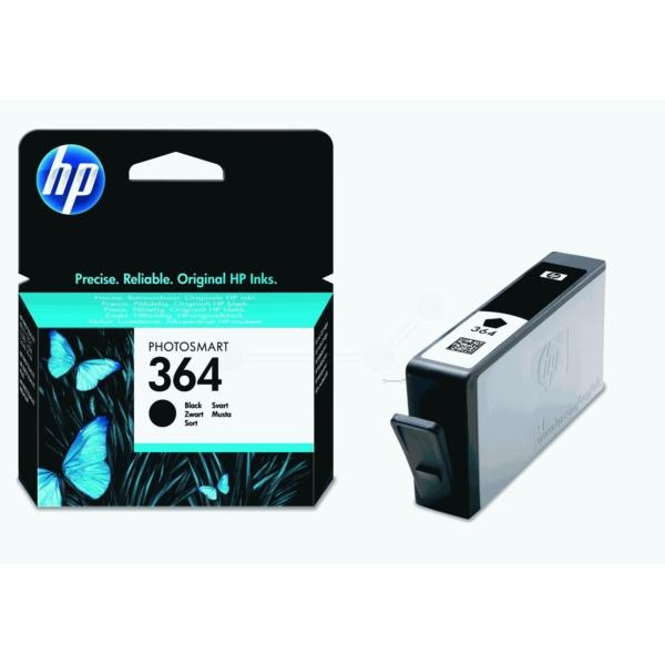 HP CB316EE#301 (364) Ink cartridge black, 250 pages, 6ml