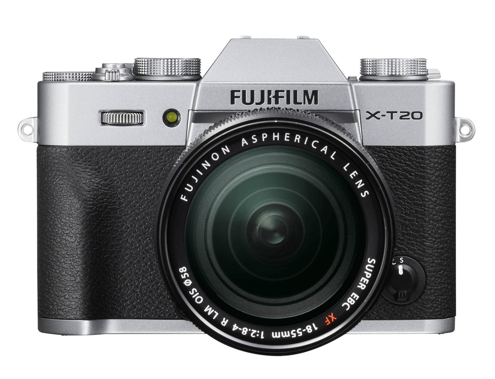 Fujifilm X T20 + XF 18-55mm F 2.8-4 R LM OIS MILC 24.3MP CMOS III 6000 x 4000pixels Black,Silver