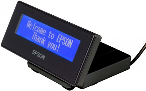 Epson DM-D30 40 digits Black USB 2.0