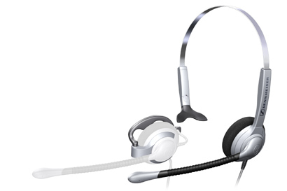 Headset Sh 335/ Flexible Headset Which Enables Users To Switch