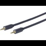 VivoLink PROMJLSZH0.5 0.5m 3.5mm 3.5mm Black audio cable