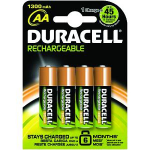 Duracell HR6-B Nickel Metal Hydride 1300mAh 1.2V rechargeable battery