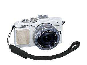 Olympus E0410188 Digital camera Leather Black strap