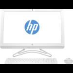"""HP 24 -e080na 2.4GHz A9-9400 AMD A 23.8"""" 1920 x 1080pixels White All-in-One PC 2WC72EA#ABU"""