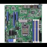 Asrock E3C222D4U server/workstation motherboard LGA 1150 (Socket H3) Intel® C222 microATX