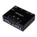 StarTech.com Conmutador Automático de Vídeo VGA de 2 puertos - Switch Selector de Dos Salidas con Copia EDID