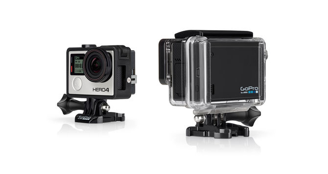 GoPro ABPAK-401 camera kit USB, Black camera kits