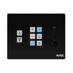 AMX CP-3008 Wired press buttons Black remote control