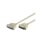 Microconnect DB25-DB25 2m serial cable White