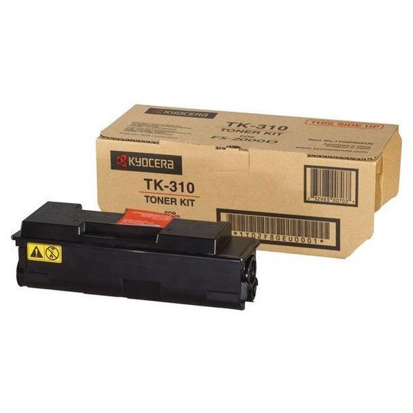 KYOCERA 1T02F80EU0 (TK-310) Toner black, 12K pages @ 5% coverage