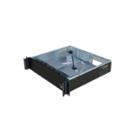 TGC Rack Mountable Server Chassis 2U 400mm Depth, 5x Int 3.5' Bays, 4x Low Profile PCIE Slots, 3x Full H