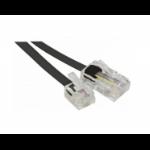 Hypertec 911734-HY telephone cable 15 m Black