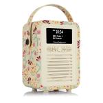 ViewQwest Retro Mini radio Portable Analog & Digital Multicolor