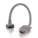 C2G 3ft Premium Shielded HD15 M/F SXGA Monitor Extension Cable 0.9m VGA (D-Sub) VGA (D-Sub) Grey VGA cable