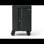 Bretford Cube Cart Mini Portable device management cart Charcoal
