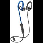 Plantronics BackBeat Fit 350 Auriculares gancho de oreja, Dentro de oído Azul, Gris