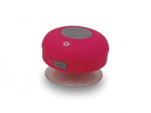 Wireless Bt Waterproof Speaker 3w Bluetooth3 400ma USB Pink