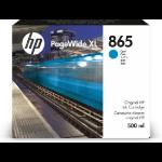 HP 865 1 pc(s) Original High (XL) Yield Cyan 3ED85A