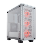 Corsair Crystal 460X RGB Midi-Tower White computer case