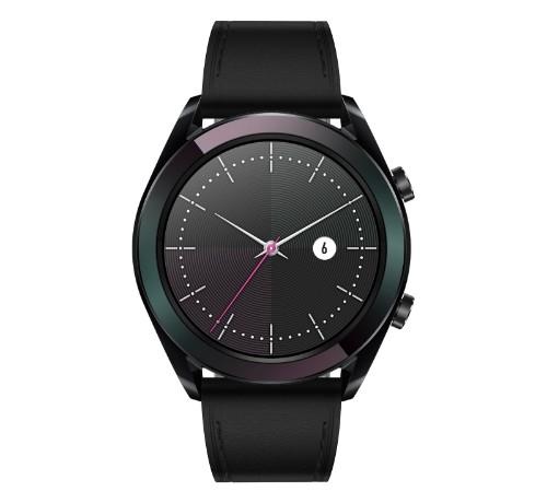 "Huawei WATCH Elegant smartwatch AMOLED 3.05 cm (1.2"") Black GPS (satellite)"