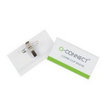 Q-CONNECT KF01567 identity badge/badge holder PVC 50 pc(s)