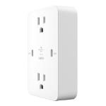 Belkin WCZ001DQWH power plug adapter NEMA 5-15P NEMA 5-15 White