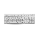 Logitech K120 keyboard USB QWERTZ German White
