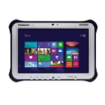 Panasonic Toughpad FZ-G1 128GB 4G Black,Silver tablet