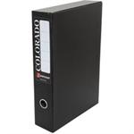Rexel Colorado Foolscap Lockspring Box File Black (5)