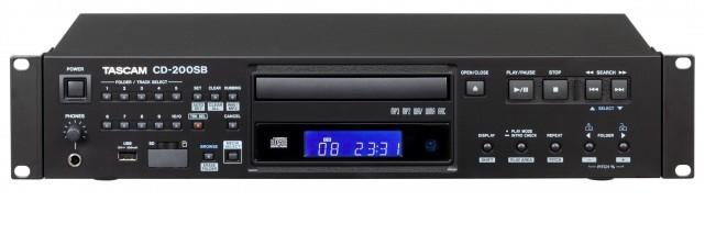 Tascam CD-200SB CD player Black