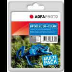 AgfaPhoto APHP301XLSET ink cartridge 2 pc(s) Black, Cyan, Magenta, Yellow