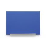 Nobo Diamond Glass Board Magnetic Blue 677x381mm DD