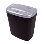 Aurora AS610C paper shredder Cross shredding 22 cm 70 dB Black, Silver
