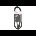 Chord Electronics 190.048UK 1.5m 6.35mm TRS XLR Black audio cable