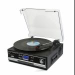 Technaxx TX-22+ Belt-drive audio turntable Black