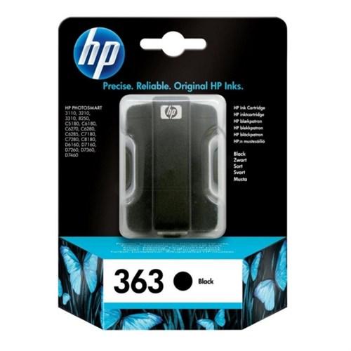 HP C8721EE#301 (363) Ink cartridge black, 410 pages, 6ml
