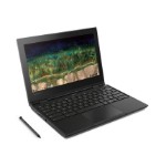 "Lenovo 500e Black Chromebook 29.5 cm (11.6"") 1366 x 768 pixels Touchscreen 1.10 GHz Intel® Celeron® N3450"