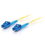 C2G 85606 fibre optic cable 3 m OFNR LC Yellow
