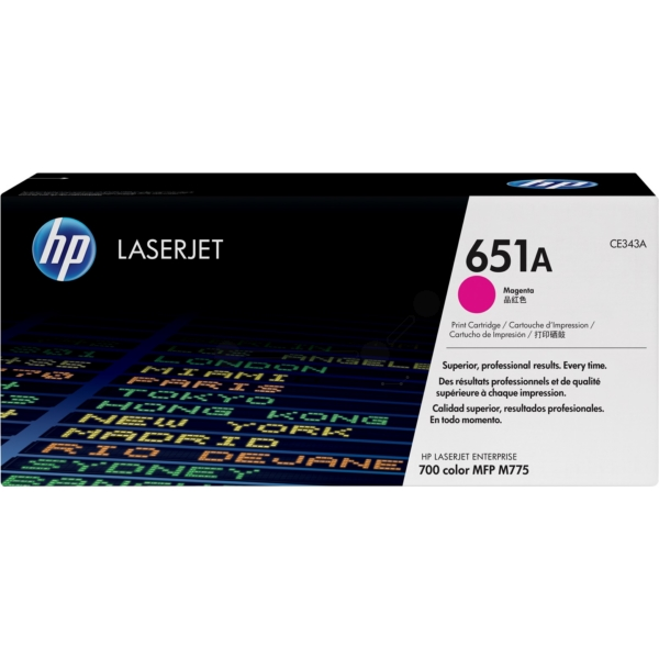 HP CE343A (651A) Toner magenta, 16K pages