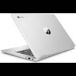 "HP Chromebook x360 14 G1 Silver 35.6 cm (14"") 1920 x 1080 pixels Touchscreen Intel® Pentium® 8 GB DDR4-SDRAM 32 GB Flash Wi-Fi 5 (802.11ac) Chrome OS"