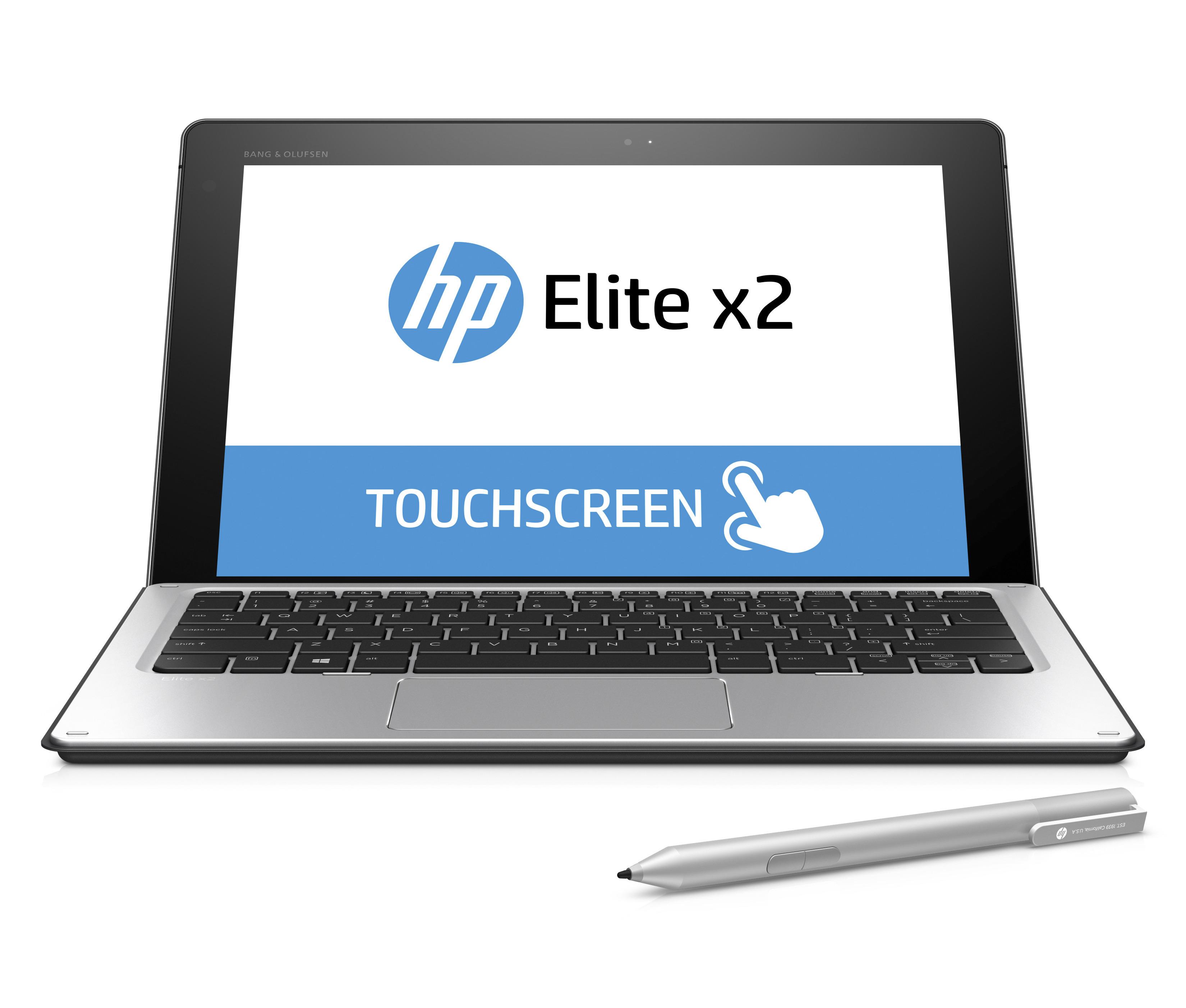 """HP Elite x2 1012 G1 1.2GHz m7-6Y75 12"""" 1920 x 1080pixels Touchscreen 4G Silver"""