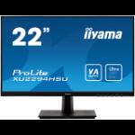 "iiyama ProLite XU2294HSU-B1 LED display 54.6 cm (21.5"") 1920 x 1080 pixels Full HD Black"