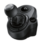 Logitech G Driving Force Shifter Zwart Speciaal Analoog/digitaal PlayStation 4, Xbox One