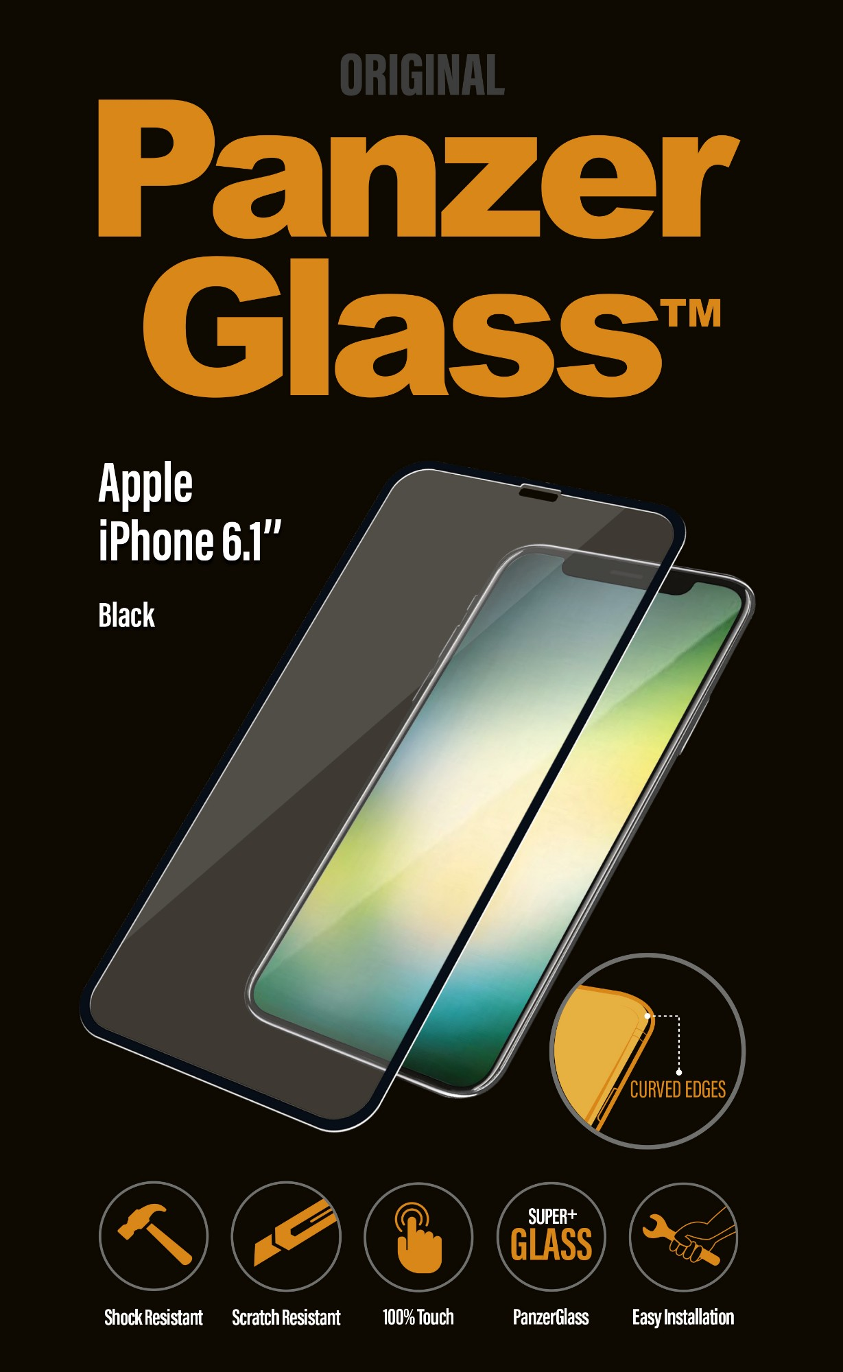 PanzerGlass 2641 protector de pantalla Teléfono móvil/smartphone Apple 1 pieza(s)